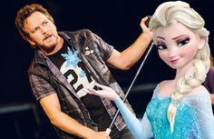 "Pearl Jam canta ""Let It Go"", da trilha sonora de ""Frozen"""