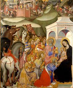 Bartolo di Fredi ~ Adoration of the Magi ~ 1385-88