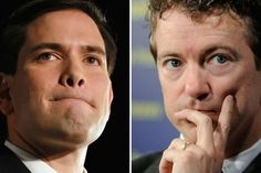 Could the 2016 GOP Presidential Nomination Come Down to Marco Rubio and Rand Paul? why fight. put em together on the ticket and let's kick some ass Kelly Files, Paul Shark, Self Centered, Republican Senators, Running For President, Shark Tank, Allegedly, Rand Paul