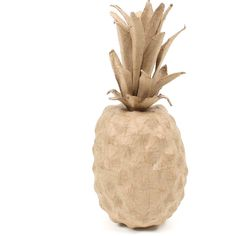 Mache Pineapple 11 X 10 X 14 Cm | Hobbycraft