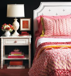 I particularly like this one.  Nicely done!  |  Painted headboard