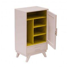 """Chevet années 50 """"Capucine"""" - Rien à cirer #meuble #vintage"""