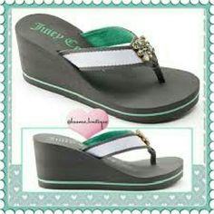 NWT Juicy couture wedges Brand new Juicy Couture Shoes Wedges