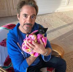 Robert Downey Jr. and friend - Tap the link now to see all of our cool cat collections!