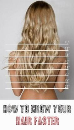 The Ultimate Beauty Guide: How to grow your hair faster: 1 to 2 inches in just 1 week #long_hair