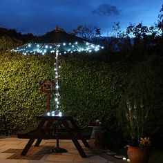[EUR € 45.99]  - solar 100-led valkoinen valo ulkona värivalot joulukoristeita valaisimet