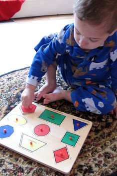 Ty hasn't really taken the typical road to Montessori literacy, mostly because he started on the journey himself, and continues to do so. I'...