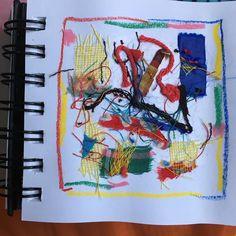 """catherine cappeau on Instagram: """"Carnet de scraps (chutes, restes, déchets), Ballade en tissus matières #chutes tissus #Surface texturée #textile pattern #tissu à motifs…"""""""