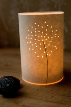 Seed Head Candle Cover - Hannah Nunn