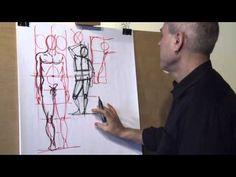 COMMENT DESSINER L'ANATOMIE HUMAINE PAR FERHAT EDIZKAN - YouTube