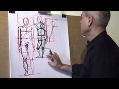 Dessin Lesson 3  Les proportions humaines French - YouTube