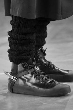 Y-3 at New York Fashion Week Fall 2009  http://www.creativeboysclub.com/tags/shoes