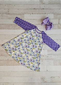 The Hair Bow Company | Morning Glories Raglan Dress for Girls