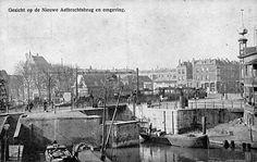 De Nieuwe Aelbrechtsbrug heeft dienst gedaan tot begin jaren dertig. Toen werd de ruim vijfhonderd jaar oude scheepvaartverbinding met de Nieuwe Maas, via de Aelbrechtskolk en de Voorhaven, voorgoed afgesloten. De Schie werd doorgtrokken naar de in 1933 gereedgekomen Coolhaven en Parksluizen.  Een Schie-breedte verder en haaks op de oude brug, ongeveer op de plaats waarvan deze foto is geschoten, werd de Lage Erf brug gebouwd.