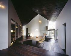 Společné prostory domu mohou připomínat malý kaskádovitý potůček.