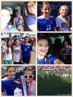 USWNT game with @jennagb11 and @7pboucher. They won 3-1 and I had a blast! Can't wait to do it again someday!!!