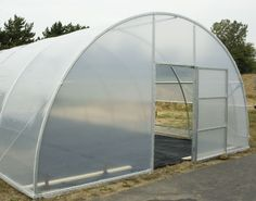 PVC Arched Greenhouse - Project - Simplified Building | Gardening ...