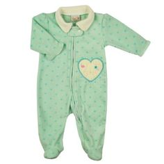 Harga Pakaian Bayi - Rene Rofe Bayi-Bayi perempuan Fleece Snuggle N Play Footie Sleeper (ukuran 0-9M) | Pusat Baju Bayi Terbesar dan Terlengkap Se indonesia