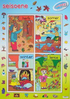 """""""Verkleinwoorde"""" opvoedkundige muurkaart / plakkaat in Afrikaans - Educational Toys Online Letter Tracing Worksheets, Tracing Letters, Frog Nursery, Nursery Art, Afrikaans Language, Teaching Posters, Teachers Aide, Toys Online, Preschool Learning"""