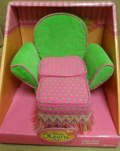Only Hearts Club Club Chair Ottoman NRFB | eBay