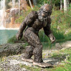 Bigfoot, the Garden Yeti Statue