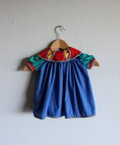 VINTAGE childrens DRESS. $12.00, via Etsy.