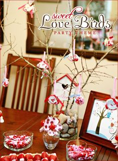 Fantasy Candies Valentines Day Event  REAL PARTIES: Love Birds Theme