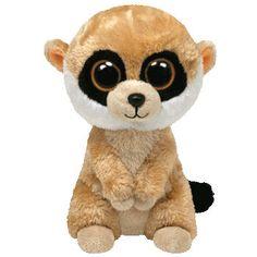 TY Beanie Boos - REBEL the Meerkat ( Beanie Baby Size - 5.5 inch )