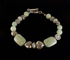 Cool as an ocean breeze - this Boho Chic Tranquility Bracelet is handcrafted of beautiful Russian Amazonite. Amazonite - Used by the ancient