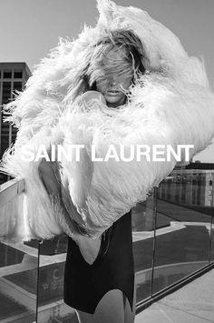 Photo Yves Saint Laurent Spring/Summer 2018