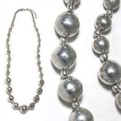 SG PARIS NECKLACE METAL 70 CMS SILVER ARGENTE NECKLACE LONG NECKLACE METAL SUMMER WOMEN ETHNO GLAM FASHION JEWELRY / HAIR ACCESSORIES BALL $10.56