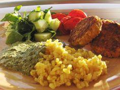 Vegansk ostesauce med spinat eller grønkål | Månebarnet