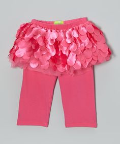 Another great find on #zulily! Sweet Bluette Rose Petal Skirted Leggings - Toddler & Girls by Sweet Bluette #zulilyfinds