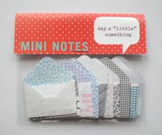 just the idea - you can make little envelopes with the envelope punch board and turn them into this kind of sweet little gift