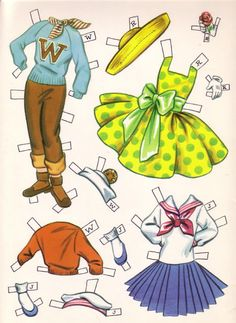 DOLLIES GO TO SCHOOL - sabine llorens - Picasa Web Albums * The International Paper Doll Society by Arielle Gabriel for all paper doll and paper toy lovers. Mattel, DIsney, Betsy McCall, etc. Join me at ArtrA, #QuanYin5 Linked In QuanYin5 YouTube QuanYin5!