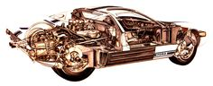 Nine cool cutaways showcase the complexity and timeless charm of the legendary GT40 The Ford GT40 continues to be remembered as one of the all time greatest racing cars, remembered by many in particular for it's ...