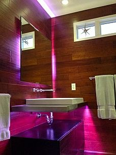 super modern bathroo
