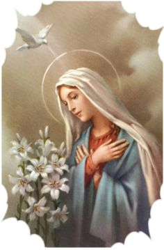 Lessons from the Divine Office for the Solemnity of the Most Holy Rosary of the Blessed Virgin Mary: Ecclesiasticus Blessed Mother Mary, Divine Mother, Blessed Virgin Mary, Catholic Art, Religious Art, Religious Icons, Catholic Pictures, Pictures Of Jesus Christ, Religion Catolica