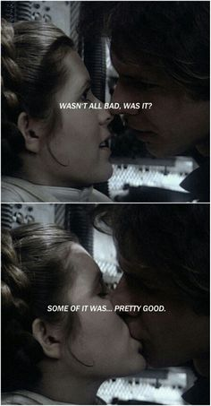Han Solo and Leia tumblr #starwars
