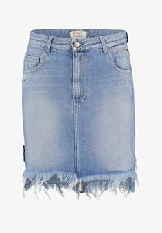 Replay SKIRT - Denim skirt - blue denim