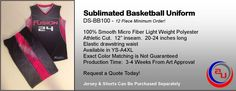 DYE SUBLIMATED BASKETBALL UNIFORMS, AFFORDABLE UNIFORMS ONLINE