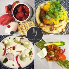 En ce moment au Christine... Venez savourez les plats de notre nouveau Chef Rémi Poulain #LeChristine