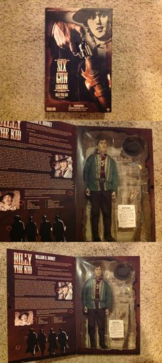Historical Figures 175694: Billy The Kid Six Gun Legends Sideshow 1 6 Figure 12 Series One -> BUY IT NOW ONLY: $84.99 on eBay!