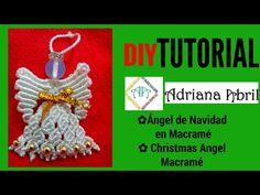 #4 ANGEL DE NAVIDAD EN MACRAME ✿ANGEL CHRISTMAS MACRAME ✿ANJO DE NATAL MACRAMÉ✿ANGE DE NOËL MACRAMÉ - YouTube