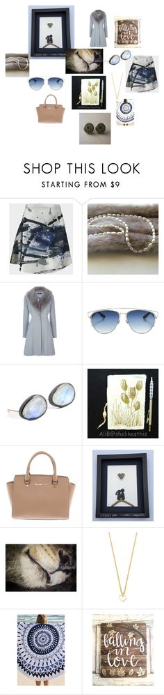"""Hold on to Hope"" by sticksandstonesgallery ❤ liked on Polyvore featuring Christian Dior, Nina Nguyen, Pocket Book, Michael Kors and Glenda López"