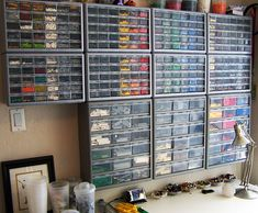 Lego storage--a vast array of photos of storage systems people use, professionals included. Incredible!