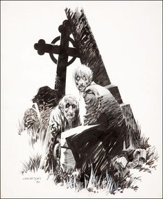 Bernie Wrightson... for Sarah who has a zombie board.