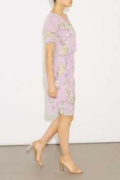 Ali Floral Silk Dress, £135.00