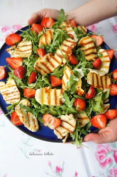 Pasta Salad, Tea Party, Dinner Recipes, Food And Drink, Keto, Halloumi, Healthy, Ethnic Recipes, Foods