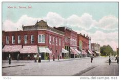 "linton indiana newspaper | Main Street, The Linton Bank, Linton, Indiana, 1900-1910s  ""You'll Love Linton"""